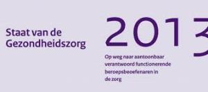 Staat gezondheidszorg 2013 IGZ